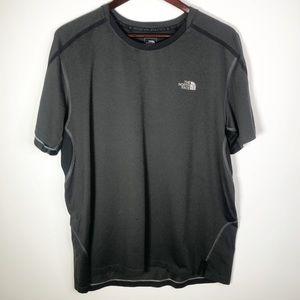 The North Face Flash Dry HD T-Shirt XL Gray Black